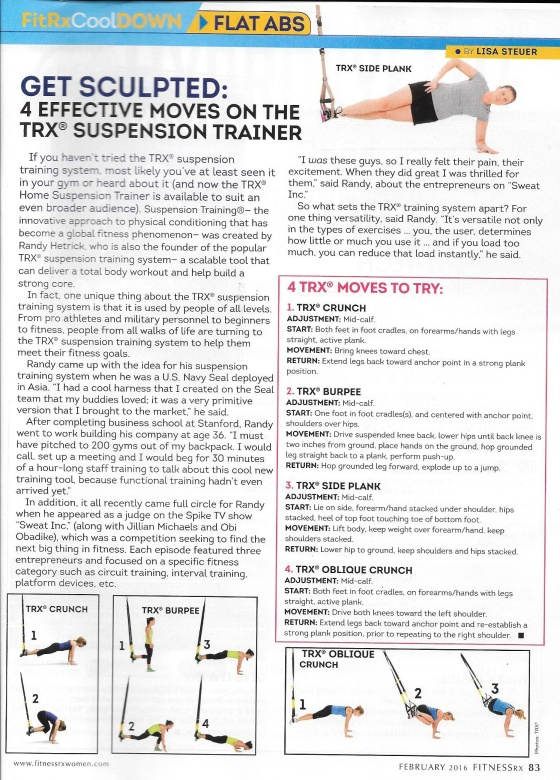 The TRX® suspension training by Dr.แพร์ 25.02.59