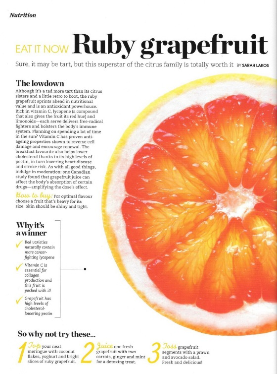 P 44 Dr. Ice  = News Letter = Eat it now, Ruby Grapefruit